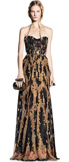 for a maxi dress by mcqueen