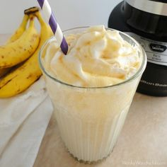 Banana Bread Dairy Free Smoothie Recipe - wonkywonderful.com