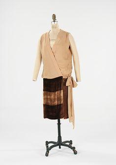 Evening dress, Patou, 1928
