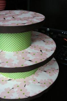 Cupcake stand! DIY
