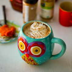 Watch me quickly make a healthy pumpkin spice latte. Be your own barista!