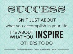 My Mantra for 2014 - Inspire success quot, life, inspiration, quotes, wisdom, thought, people, motiv, live