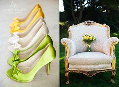 Yellow & green wedding.  http://julietmckeephotography.co.uk/index.php/good-day-sunshine-part-i/