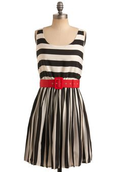 stripes + red