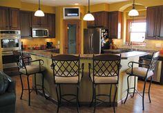 kitchens, sweet homekitchen, tuscan decor, sandi hous, hous idea, dream hous, kitchen layouts, perfect hous