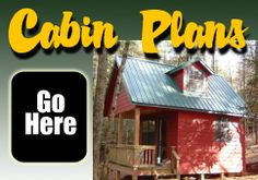 Click to find tiny, easy-to-build cabin plans at Cherokee Cabin Company