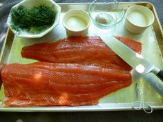 How to make lox.