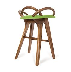 I WANT THIS CHAIR! / Loop Barstool by Meg O'Halloran Design by EnRouteStudio on Etsy, $1999.00