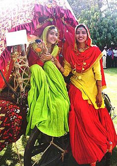 folk art, traditional dresses, indian wear, india costume, vibrant colors, women of india, place, indian people, bright colors