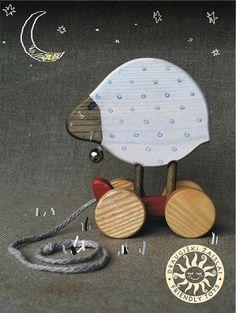 Eco friendly handmade wooden toys #friendlytoys via @handmadecharolette
