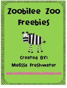 Zoobilee Zoo Freebies