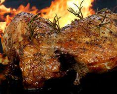 Roasting the perfect leg of lamb