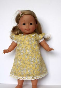Liberty of london Dolls Dress for doll 36cm/14in sized dolls