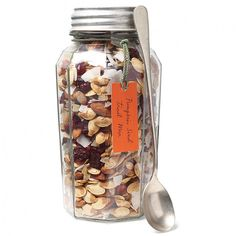 Autumn in a Jar, the perfect trail mix :)