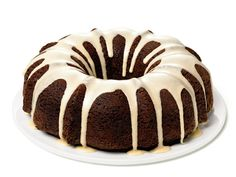 Made this cake for our 1st anniversary.      Root Beer Bundt Cake from FoodNetwork.com