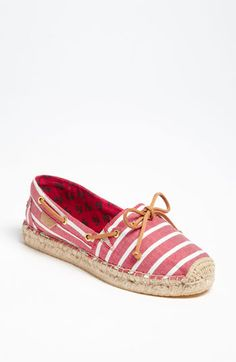 I love Sperry's shoes! Couldn't resist these.  Sperry Top-Sider® 'Katama' Flat available at Nordstrom