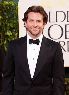 The Best Dressed Men of the 2013 Golden Globes, Most Powerful Lapels: Bradley Cooper