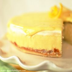 when life presents you with lemons - make this cheesecake!