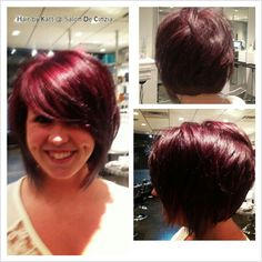 Short & Sassy texturized bob by Katt