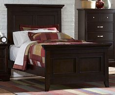 He T  Glamour Collection Twin Headboard