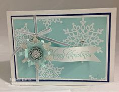 Bee Divine Designs: A quick Christmas card to share...Ou
