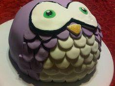 Cute Owl cake Rae!