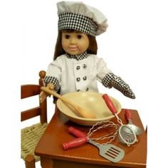 Kitchen Tool Accessory Set Perfect For 18 Inch  American Girl Dolls