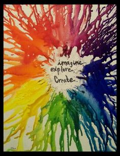 Melting Crayons