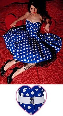 polka dot bridesmaid dress?