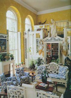 What a garden room!