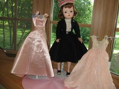 Madame Alexander Cissy with Tagged Original Outfit + Tagged Gown & Nightgown