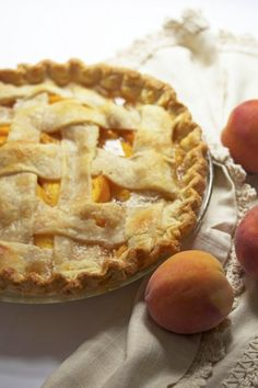 Fresh Peach Pie | www.grandbaby-cakes.com
