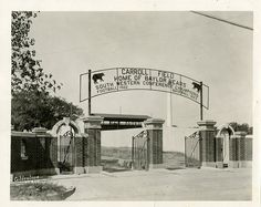 The last time #Baylor football played on campus, it was at Carroll Field (pictured in 1923), where #Baylor's SUB now stands.