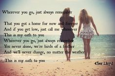 oath - cher lloyd (perfect song for best friends)