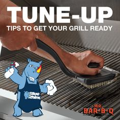 Gas Grill Tune-Up Tips to get your grill ready for the season! #grilltuneup #cleaninggrillGrill Time