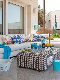 Colorful #outdoor space!