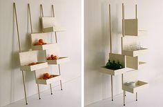 floating shelves, smart storag, awesom storag, display, storage ideas, porter, retail
