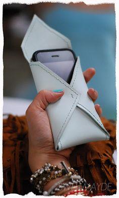 DIY envelope case for iphone