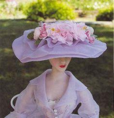 Как сделать для куклы шляпку из бумаги своими руками