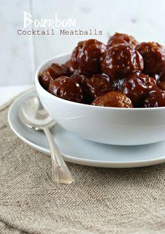 Friday Night Bites | Bourbon Cocktail Meatballs @Lisa |Authentic Suburban Gourmet