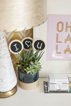 DIY Potted Plant Toppers | Dream Green DIY