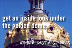 get an inside look under the golden dome.