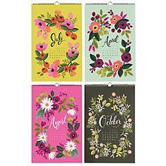 Rifle Secret Garden Calendar 2014 Calendars - Paper Source
