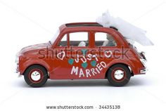 """Fiat 500 """"Just Married"""""""