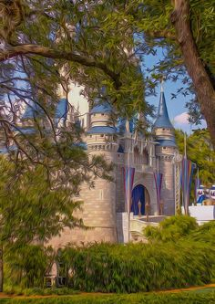 Cinderella Castle Photograph - Cinderella Castle Fine Art Print - Tiffany Zumbrun