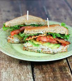 Emily Bites - Weight Watchers Friendly Recipes: California Club Sandwich