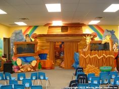 Ark play area for Calvary Church in Texas.