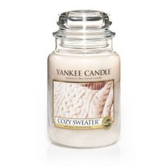 My sister Ann loves her cable-knit sweaters! She will be so excited to fill her home with Cozy Sweater's warm touches of musk and patchouli! #YankeeCandleHoliday