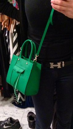 Loving my Kelly Green handbag