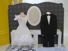 weddings, card, paper crafts